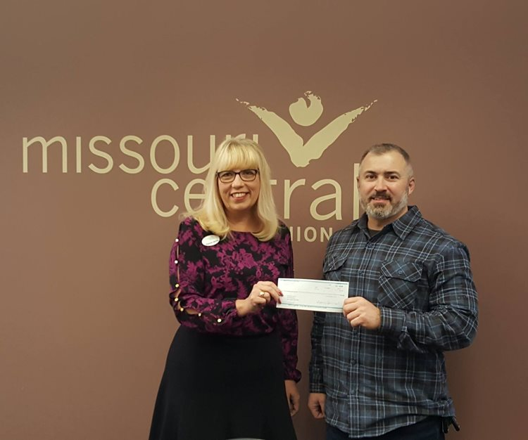 Credit Union donate to local charity